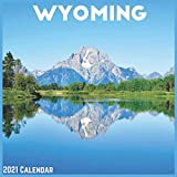 Wyoming 2021 Calendar: Official US State Wall Calendar 2021