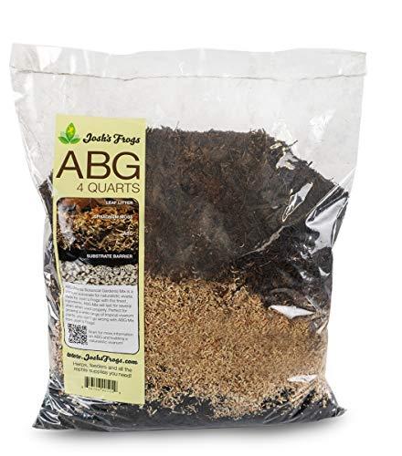 Josh's Frogs ABG Mix Tropical Plant Soil & Terrarium Vivarium Substrate (4 Quart/1 Gallon)