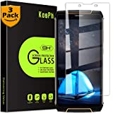[3-Pack] KOSPH for Cubot King Kong 3 (2018) Tempered Glass Screen Protector, 9H Anti-scratch, 2.5D Arc Edge, Oleophobic Coated, Sensitive Touch, High Clarity (Flat Area Coverage, Clear)
