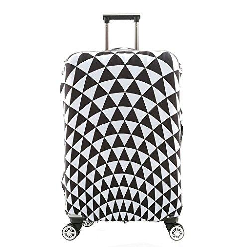Cover Proteggi Valigia Protettore dei Bagagli Valigia Borsa Elastica Suitcase Cover Proteggi bagagli luggage Cover Pop Prism (XL 30-32 pollici)