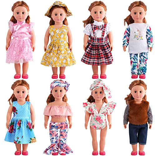SOTOGO Doll Clothes – 8 Adorable Outfits