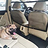 STARROAD-TIM Dog Car Barrier Vehicle Pet Barrier Backseat Mesh Dog Car Divider Net with Adjusting Rope and Hook Suitable for SUV Pickup and Small Car