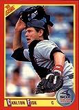 1990 Score Baseball Card #290 Carlton Fisk