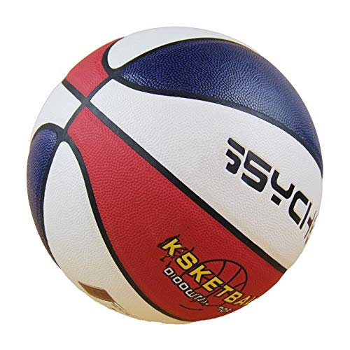 Lowest Price! SSLLPPAA Basketball No. 7 Youth Outdoor Wear-Resistant Absorbent Soft Leather Basketba...