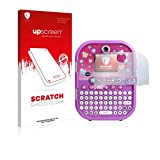 upscreen Protection d'écran Compatible avec Vtech Kidisecrets Selfie Journal Film Protecteur – Transparent, Anti-Trace