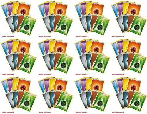 collect-it Pokemon - 100 gemischte Energiekarten