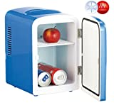 2 in 1 mini fridge with 12/230 V socket - blue [Rosenstein & Söhne]