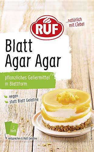 RUF Blatt Agar Agar Blattgelatine, 2,5 g