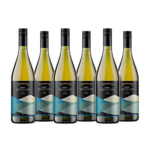 Evansea Weißwein Gavi trocken, Italien (6x0,75L)