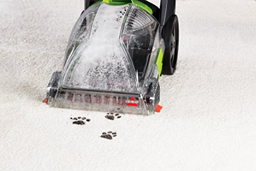 BISSELL 2085C Powerclean Turbobrush Compact Carpet Pet Deep Cleaner - Lightweight for Easy Storage and use - Easily Snaps Apart for Quick Cleaning