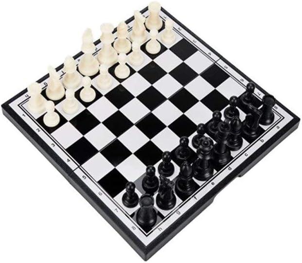 QIFFIY Chess Set Ranking TOP4 Gift Portab Classic Magnetic Foldable