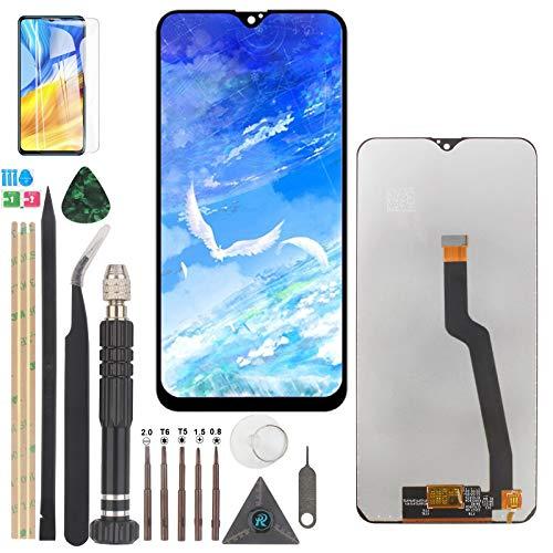 YWL-OU para Galaxy A10 2019 A105 A105F SM-A105F LCD Display componentes de pantalla y una serie de herramientas multifunción (Negro)