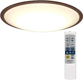 アイリスオーヤマ LED シーリングライト 調光 調色 タイプ ~14畳 メタルサーキットシリーズ ウッドフレーム ウォールナット CL14DL-5.1WFM