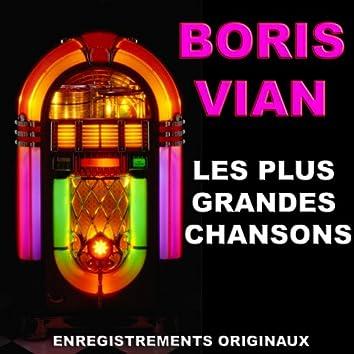 Les plus belles chansons de Boris Vian (Les plus grandes chansons de boris vian)