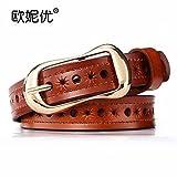 HAPPY-BELT Cinturón Decorativo de Moda Boutique La...
