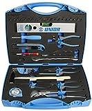 Unior 404A Werkzeug-Set für Hobby-Anwender in Kunststoffbox