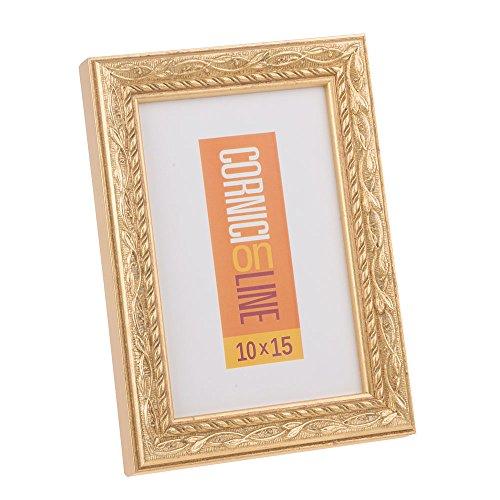 Cornice in Legno 132 Oro da Parete 20x30