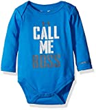 Under Armour Baby' Long Sleeve Bodysuit, Blue, 6-9 Months