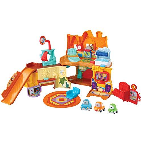 Vtech 80-529104 TUT Corys Haus Babyspielzeug, Babyfahrzeug, Spielzeugauto, Cory Flitzer