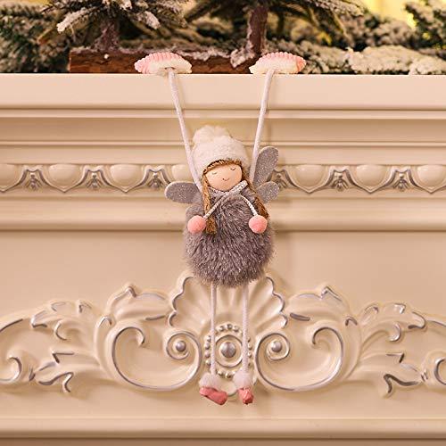 Hohaski Christmas Decorations Angel Gloves Girl Creative Ornaments Ornament, Christmas Ornaments Advent Calendar Pillow Covers Garland Tree Skirt Gift Bags DIY