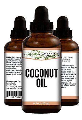 Huile de noix de coco pure – hydratant ultime pour les cheveux, le visage et la peau.