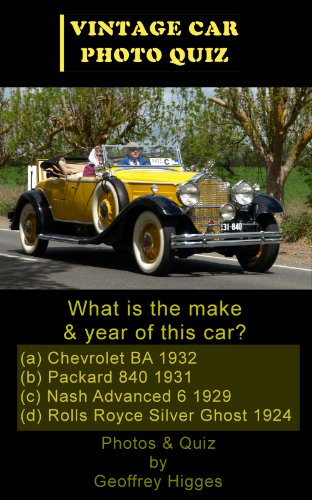 50 Vintage Cars - A Photo Quiz (Car Photo Quiz Book 1) (English Edition)