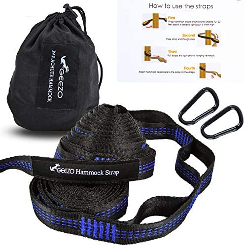 Sale special price Geezo Hammock Straps 40 Loops Combined Long Two Extra with 10ft Ranking TOP1