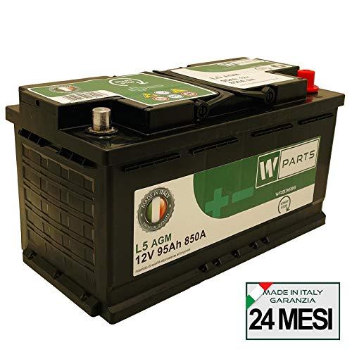 Batteria Auto 95 Ah AGM - 850A | Start & Stop | 353 x 175 x 190 | 95Ah | VR850
