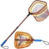 YVLEEN Kids Fishing Net for Lakes -...