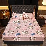 Sábana de verano Colchoneta de seda de hielo Suave y cómodo colchón de látex Ropa de cama Alfombra transpirable para un...