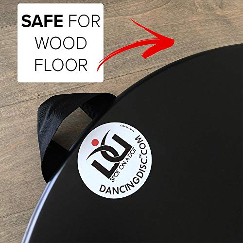 New Professional Portable Dance Floor/Turning Board/Tap/Ballet/Safe to use on All Kinds of Floors at The House. Best Turning Board for Dancers on The Go!