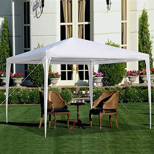 10'x30' Outdoor Canopy Tent Heavy Duty Party Wedding Event Tent Sturdy Steel Frame with Removable Sidewalls Waterproof Sun Snow Rain Shelter Gazebo Canopy Tent (10'x10'-Pergolas)