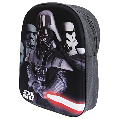 Officiel Star Wars Darth Vader Sac à Dos pour Enfants avec Hard-Shell Design 3D