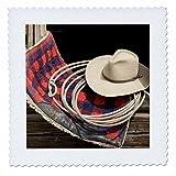 3dRose qs_93555_1 Oregon, Seneca, Ponderosa Ranch. Cowboy