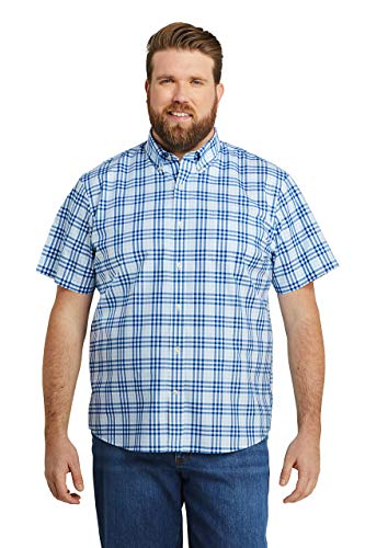 Lands' End Men's Short Sleeve Traditional Fit No Iron Sportshirt