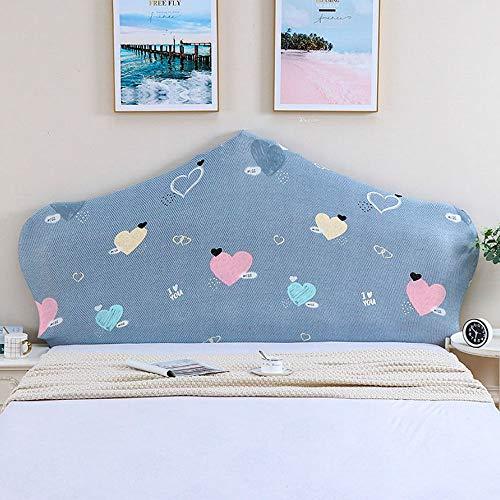 AIWEI Lit Tête de lit Housse Protecteur, Tout Inclus Têtes de lit pour des Lits, Étendue Étanche à la poussière Coton Couverture, Tête de lit Couverture (Color : Color 9, Size : 140-160cm)