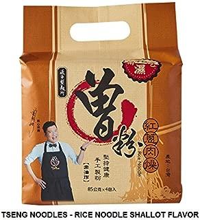 Tseng Noodles Rice Noodle, Shallot Flavor, 11.2 Ounce