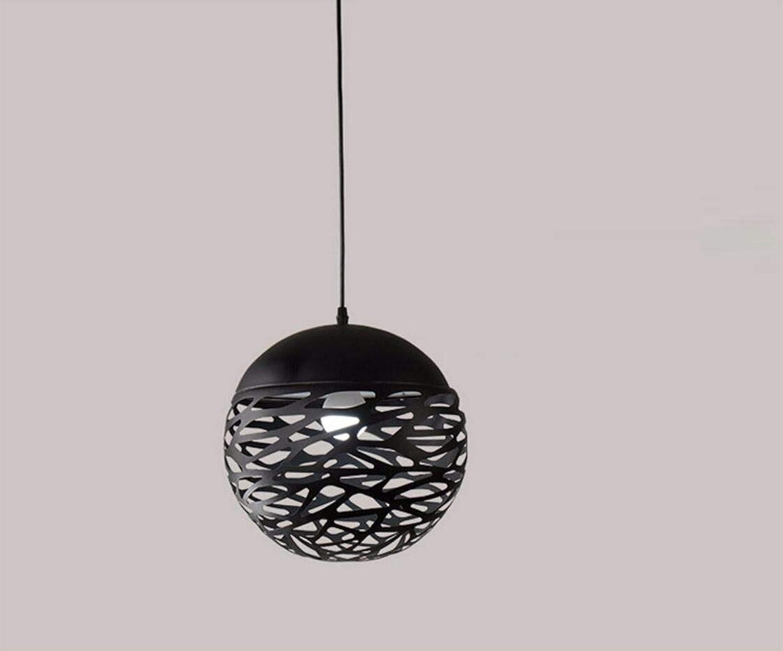 NUYAN LED Pendelleuchte Eisen kugelfrmigen hohl kronleuchter Hohl Kreative Schmiedeeisen hngelampe Wohnzimmer Bar Restaurant Dekoration Beleuchtet