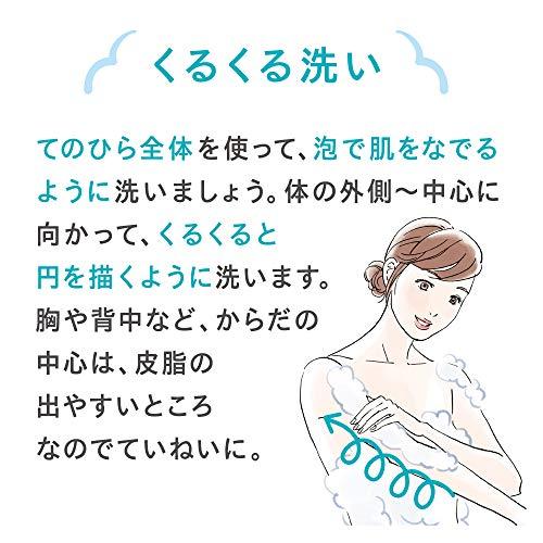 キュレルボディウォッシュポンプ420ml(赤ちゃんにも使えます)