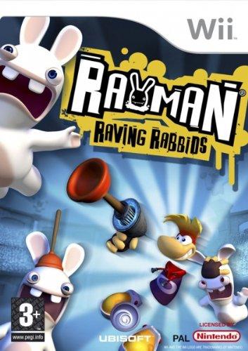 Ubisoft Rayman Raving Rabbids, Wii - Juego (Wii, Nintendo Wii)