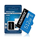 512GB Micro SD Card with Adapter High Speed MicroSD Card for Nintendo Switch,Class 10 Memory Card for Android Smartphone Digital Camera Tablet and Drone