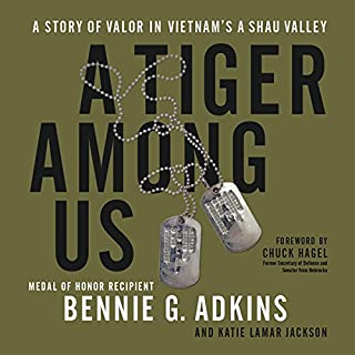 A Tiger Among Us audiobook cover art