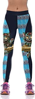 Leggings Fitness Yoga Slim High Waist Pants Women Sportswear Workout Trouse Blue