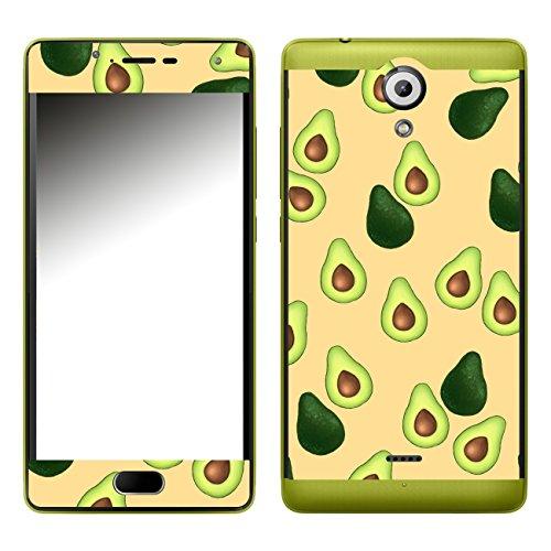 Disagu SF-107288_1123 Design Folie für Wiko Ufeel Lite - Motiv Avocados Muster orange