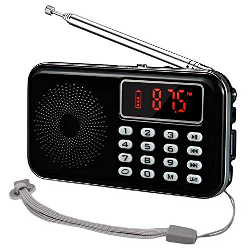 iMinker Portable Mini AM FM Radio Speaker MP3 Music Player Support TF...