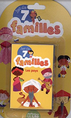 Jeux de 7 familles: Les pays - Dès 5 ans
