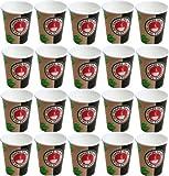 1000 x Kaffeebecher 0,3 Liter # Coffee-to-go Becher # edles Design # Pappbecher 300ml # Papierbecher # für Party, Kiosk, Tankstelle oder einfach für zuhause # Einwegbecher zum Mitnehmen # cappuccino latte macchiato Milchkaffee café