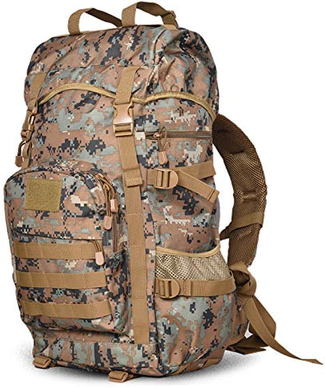 SQB Taktische Armee Rucksack der Special Forces 55L im Freien Spielraumbergsteigenbeutelmann-Schulter-Beutel-Rucksack-Tasche