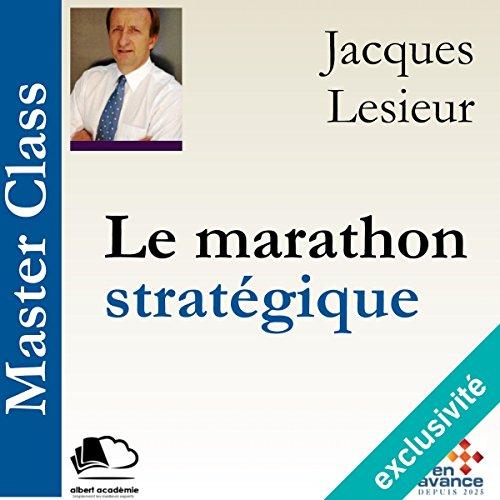 Le marathon stratégique audiobook cover art