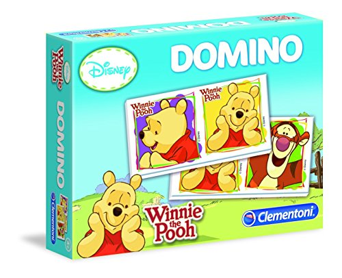 Clementoni - 13408-Domino - Winnie-Jeu éducatif